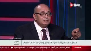 الحوار مستمر - الهوية القومية لمصر وتأثيرها على الهوية الثقافية .. د. جمال شقرة