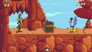 Desert Demolition - Wile E. Coyote - Sega - Looney Tunes - 1994