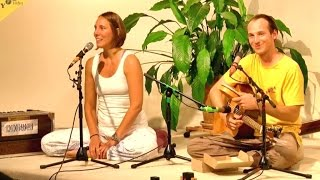 Maha Mantra and Gayatri Mantra chanted by Gauri and Johannes