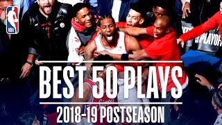 Best 50 Plays | 2019 NBA Playoffs
