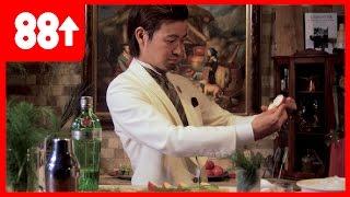 Making a Gin Apple & Fennel Cocktail | Japan's Greatest Bartender - Hiroyasu Kayama