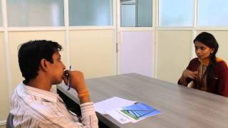 Tech Mahindra's mock interview sessions for the final year students