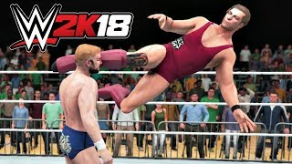WWE 2K18 Gameplay   Pete Dunne vs Tyler Bate United Kingdom Championship at WWE Live House Show