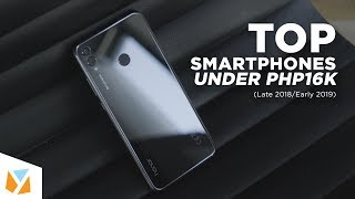 Top Smartphones Under PHP16k (Late 2018/Early 2019)