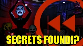 FNaF: Sister Location | All Ballora's Voice Lines Backwards! SECRETS FOUND!?!