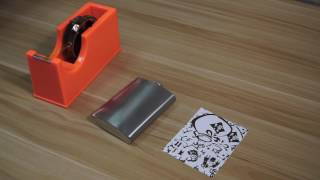 8oz Hip Flask printing video (All-in-One 3D Vacuum Press)