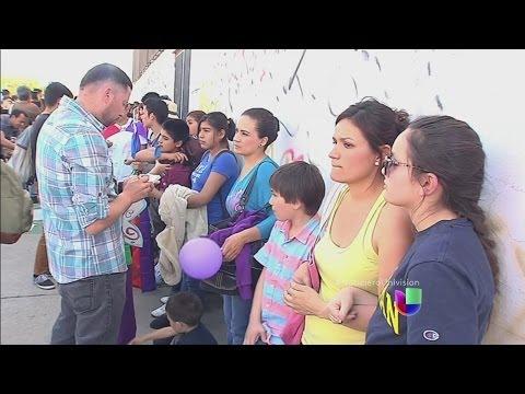 Mujeres intentarán cruzar la frontera para estar con sus hijos
