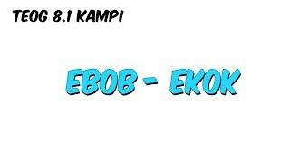 EBOB - EKOK | 8.1 Kampı