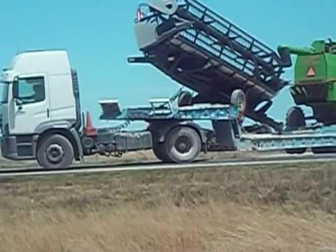 video de cosechadoras ARGENTINA
