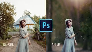 Photoshop cc Tutorial: Easiest Way To EDIT OUTDOOR Portrait | Blur Photo Background