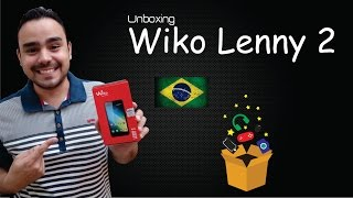 Unboxing Wiko Lenny 2 - Smartphone Europeu Interessante!
