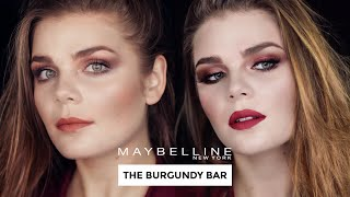 Maybelline Burgundy Bar Far Paleti İnceleme ve Makyaj