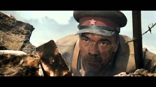 The Brest Fortress (2010) - german tanks scene, infantry charge
