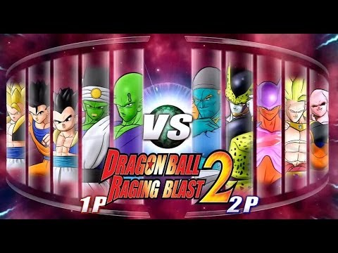 Dragon Ball Z Raging Blast 2 - The Ultimate Battle (Live Commentary)