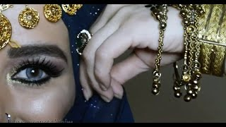 Arabic - Hindi Wedding Make-Up 💜 #İnstagram