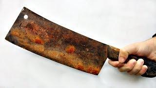 Restoration Cleaver of old | Rusty Cleaver Restoration - Perfect Restoration