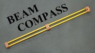 Dual Rod Beam Compass