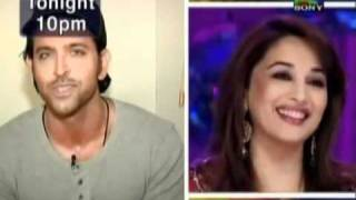 Hrithik Roshan talks about Madhuri Dixit on Jhalak Dikhla Ja