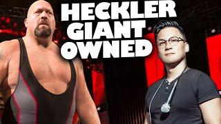 Comedian Slays Heckler Giant (uncensored)