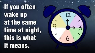 Do You Often Wake Up Between 3 AM and 5 AM? Here Is What It Means