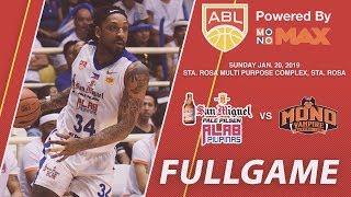 San Miguel Alab Pilipinas v Mono Vampire | FULL GAME | 2018-2019 ASEAN Basketball League