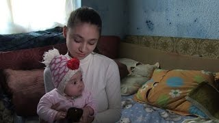 Pregnant at 15, the teenage mothers of Romania