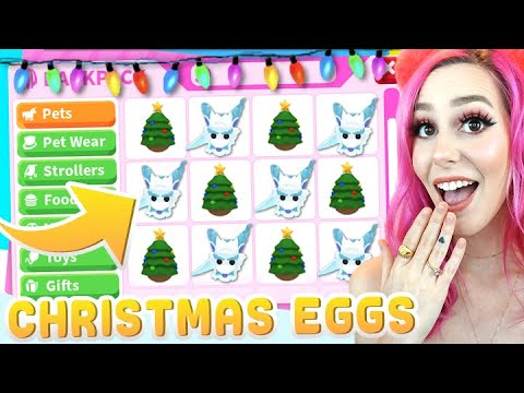 Can I Hatch The CHINESE FROST DRAGON From The CHRISTMAS EGGS Roblox Adopt Me