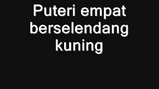 Ulek Mayang with lyrics   YouTube