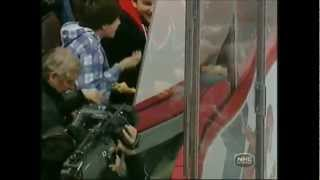 The Best Broken Glass Moments In The NHL