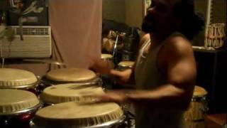 Paoli Mejias The Best Fat Burning Music Workout Routine: Conga Insanity P90X - Level 1