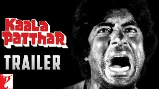 Kaala Patthar | Official Trailer | Amitabh Bachchan | Shatrughan Sinha