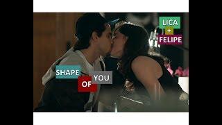 felipe + lica | shape of you