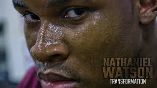 Watch the moment Nathaniel Watson commits to his SEC coach
