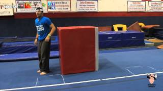 BACK FLIP! Training, jump, and tuck drills! PART 2 of 3!