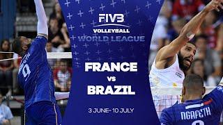 FIVB - World League: France v Brazil highlights