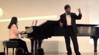 蕭泰然      點心擔   Tenor: Dr. JC Fann, Pianist: Gretta You