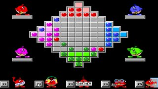 GAMOS puzzle series - Russian DOS games