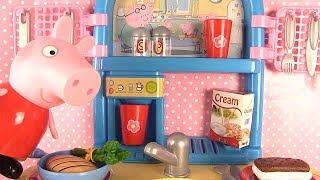Jouets de Peppa Pig Cuisine Smoby Peppa Pig Fait la Cuisine