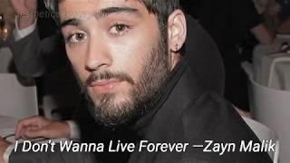 Zayn and Harry's lyrics similarities/having the same meaning