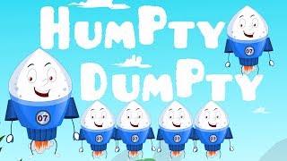 Humpty Dumpty Sat auf einer Wand | Reim für Kinder | Rhymes For Kids | Humpty Dumpty Rhyme For Kids