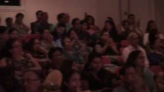 Our wonderful audience on June 18