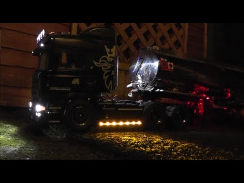 tamiya scania R730 BRIGHT LIGHTS