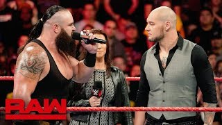 Braun Strowman to face Baron Corbin in a Tables, Ladders & Chairs Match: Raw, Nov. 19, 2018