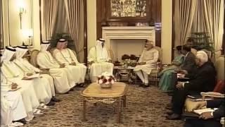 PM Modi meets Emir of Qatar, His Highness Sheikh Tamim Bin Hamad Al-Thani in New Delhi