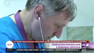 Tömegesen emigrálnak a romániai orvosok