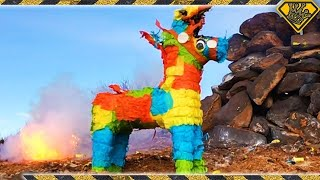 Exploding Missiles and A Piñata.