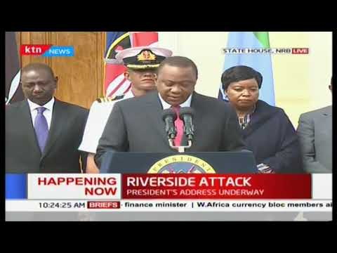 President Uhuru We have dealt with the threat decisively all terrorists neutralized