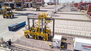 Kalmar FastCharge™ Shuttle Carrier At DP World London Gateway