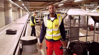 A morning with baggage handler Angelo