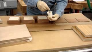 Part 2 Box Build - Veneering tops